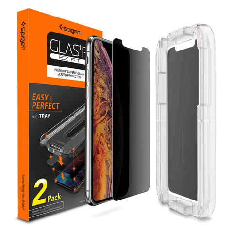 b8478d9208 iPhone XS/X Screen Protector EZ FIT GLAS.tR Privacy