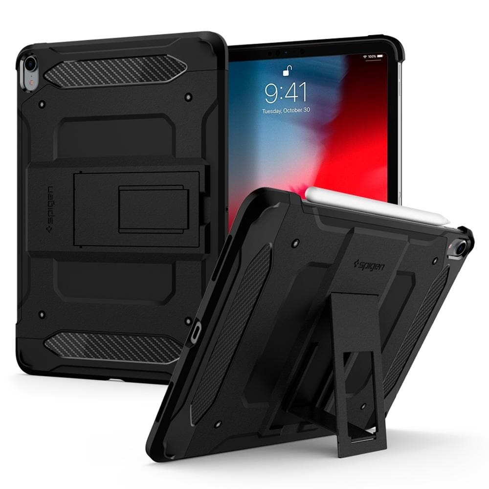 Tough Armor TECH	Black	Case	back design and a front view of the edge around the	iPad Pro 11