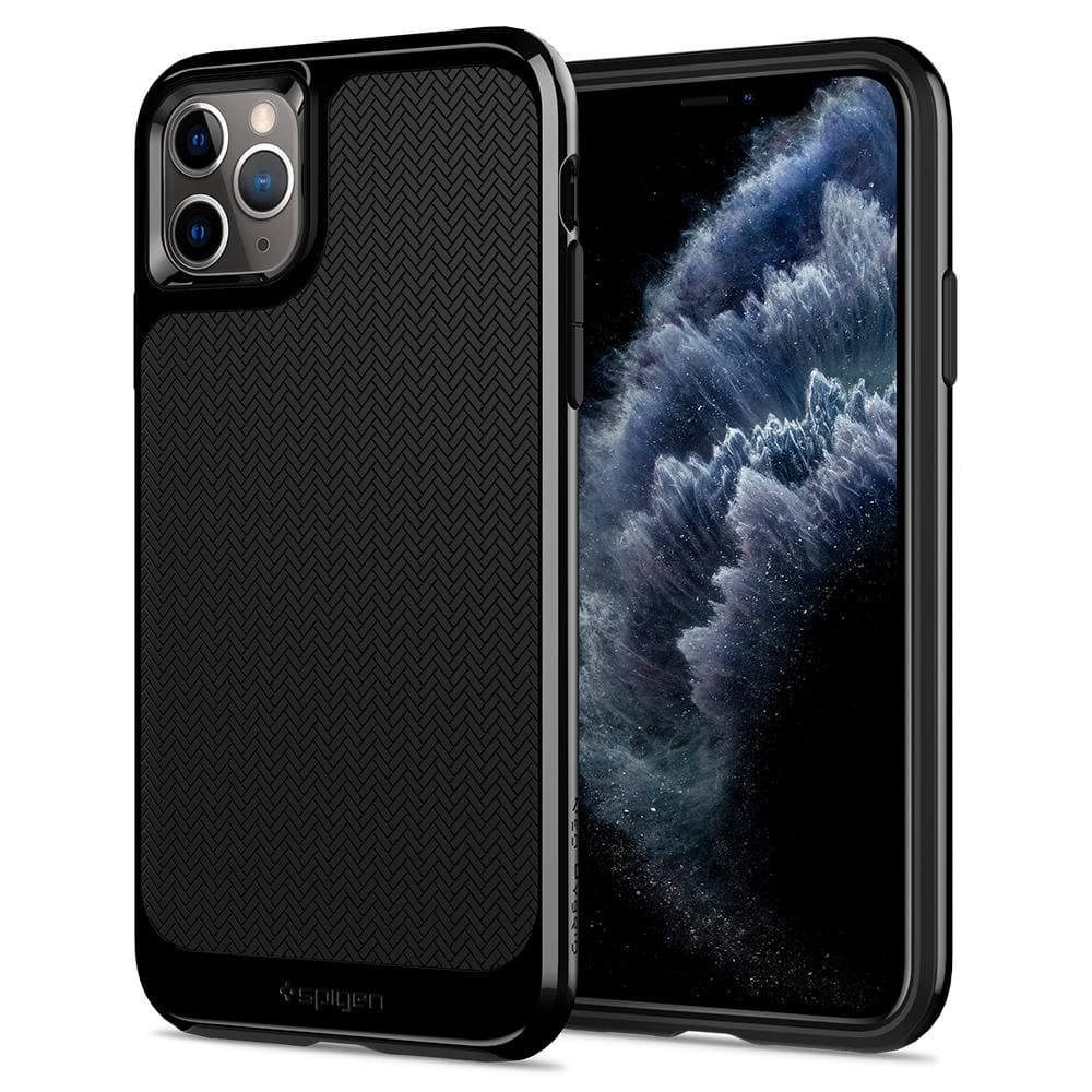 Neo Hybrid	Case	Jet Black	back design and a front view of the edge around the	iPhone 11 PRO	device.