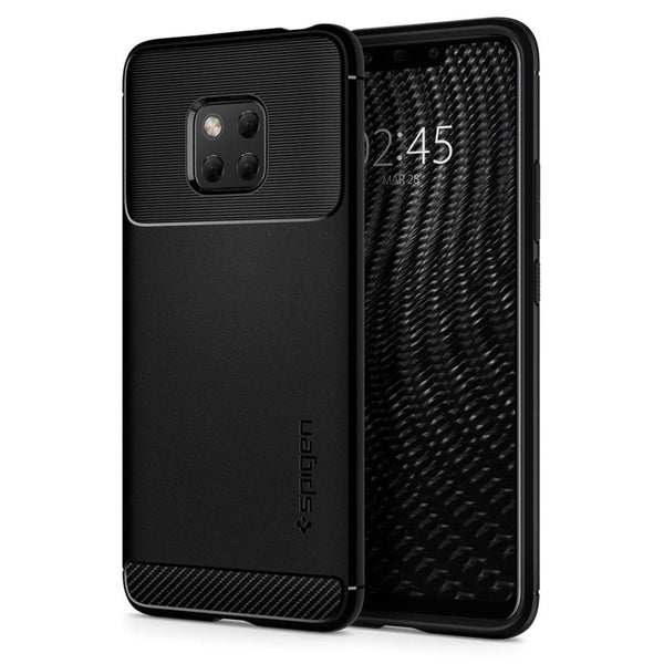 buy online 1ee13 e7891 Huawei Mate 20 Pro Case Rugged Armor - Black / In Stock