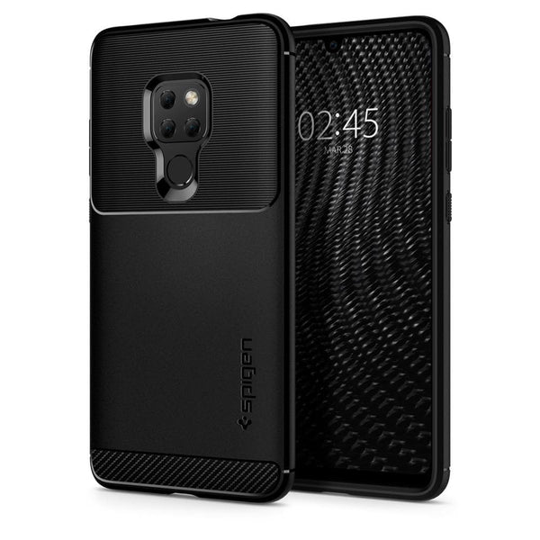 online store aded5 4d59b Huawei Mate 20 Case Rugged Armor - Black / In Stock