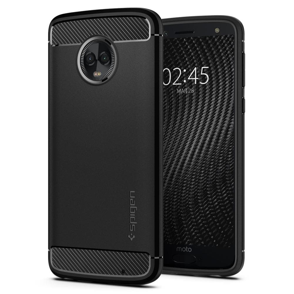 new style 75ca0 8bd31 Moto G6 Plus Case Rugged Armor