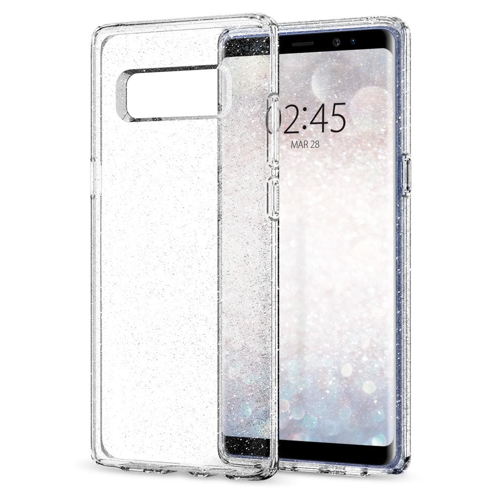 Galaxy Note 8 Case Liquid Crystal Glitter