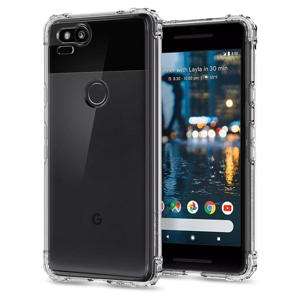 Google Pixel 2 Case Crystal Shell