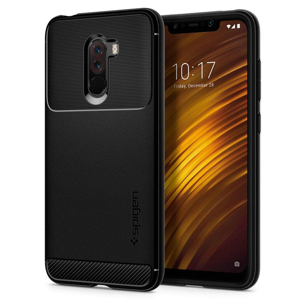 low priced 27749 91bf5 Xiaomi Pocophone F1 Case Rugged Armor - Black / In Stock
