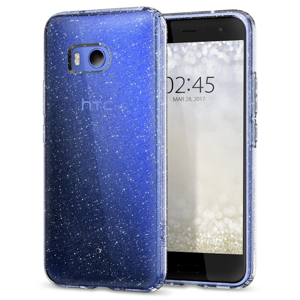 spigen htc u 11 case liquid crystal glitter spigen inc