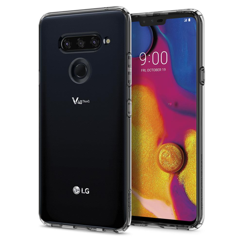 LG V40 ThinQ Case Liquid Crystal