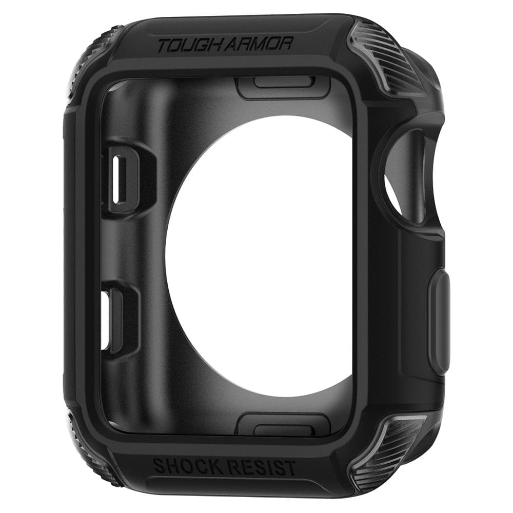 Tough Armor 2	Matte Black	Case	showing the inner lining.