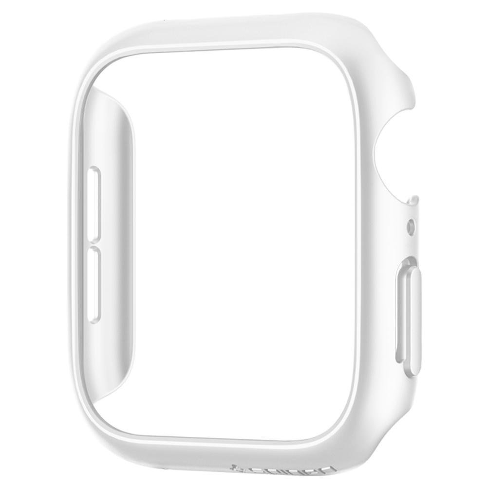Thin Fit	White	Case	showing a front facing view