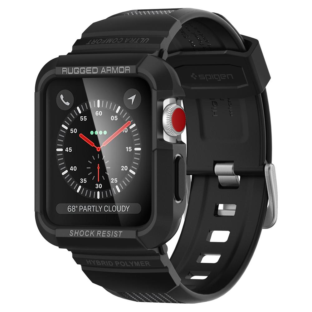 the latest b99ef fe858 Apple Watch Series 3/2/1 (42mm) Case Rugged Armor Pro