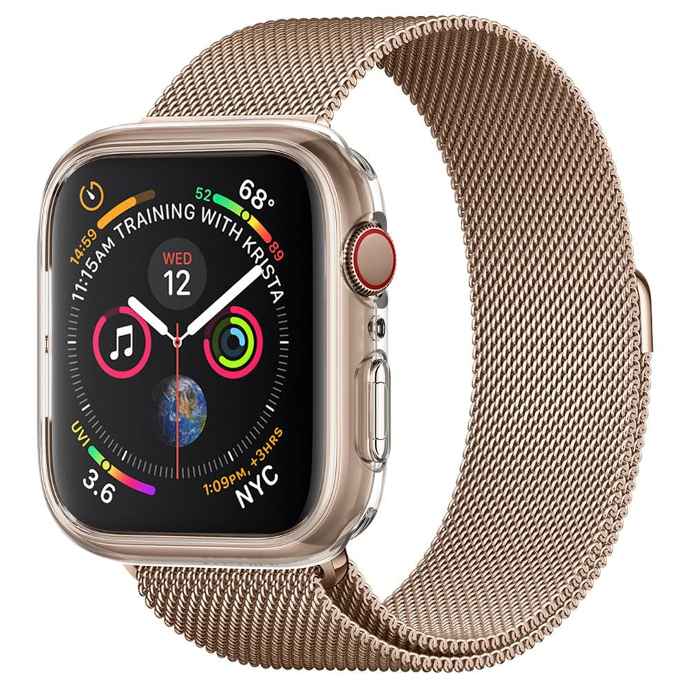 reputable site 8cd53 b8663 Details about Apple Watch Series 4 Spigen [Liquid Crystal] 40mm,44mm  Shockproof Case Cover
