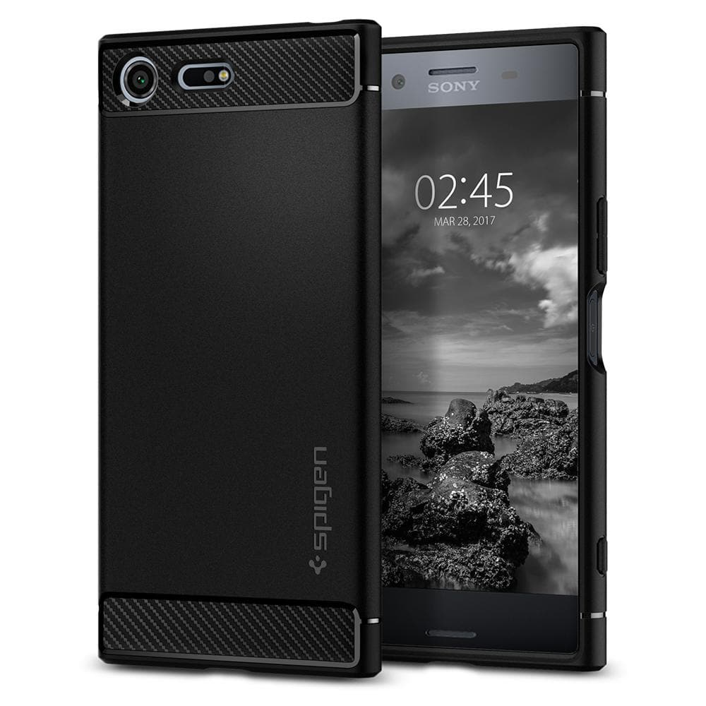 check out 5d498 cffe4 Sony Xperia XZ Premium Case Rugged Armor