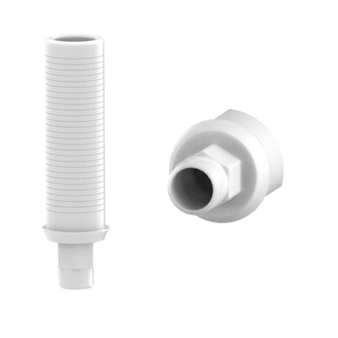 Biomet-3i® Certain® compatible plastic custom castable abutments