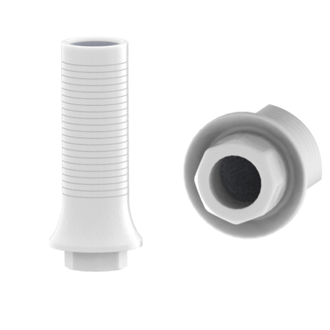 Straumann® Synocta® tissue-level compatible plastic custom castable abutments
