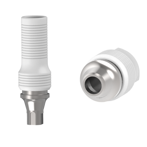 Straumann® Crossfit® bone-level compatible Co-Cr custom castable abutments