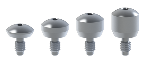 BTI® External Hex compatible healing abutments