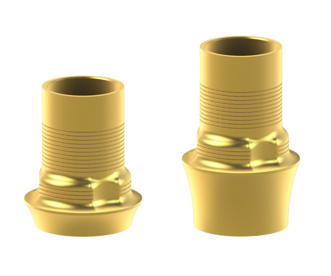 BTI® External Hex compatible interface abutments
