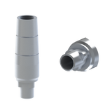 Biomet-3i ®Certain® compatible straight titanium abutment