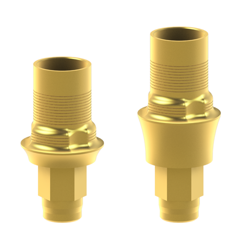 Biomet-3i® Certain® compatible interface abutments