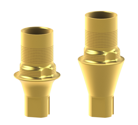 Straumann® Crossfit® bone-level compatible interface abutments