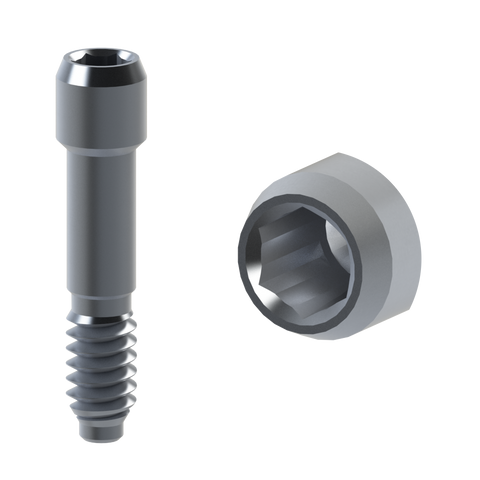 Xive® compatible titanium abutment screws