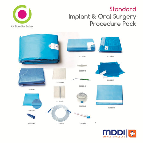 Standard Implant & Oral Surgery Procedure Pack