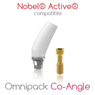 Nobel® Active® compatible Omnipack Co-Angle
