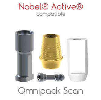 Nobel® Active® compatible Omnipack Scan