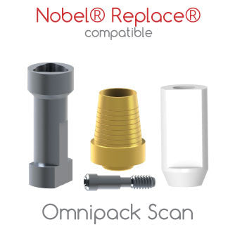 Nobel® Replace® compatible Omnipack Scan