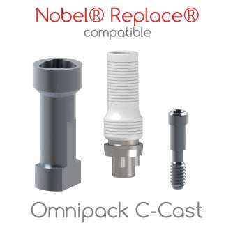 Nobel® Replace® compatible Omnipack C-Cast
