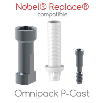 Nobel® Replace® compatible Omnipack P-Cast
