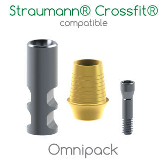 Straumann® Crossfit® bone-level compatible Omnipack