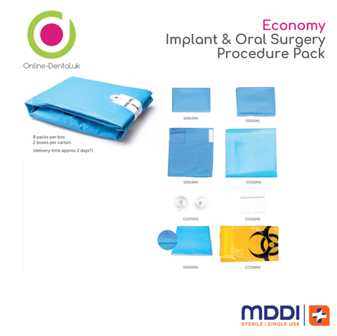 Economy Implant & Oral Surgery (8 Pack)