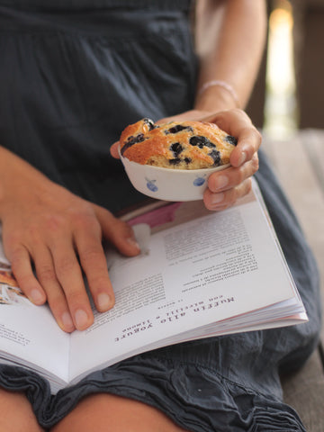 "ciotole MUFFIN ""BLUEBERRY SET"" - giovelab"
