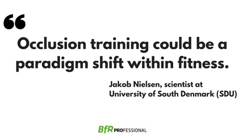 Occlusion training could be a paradigm shift within fitness