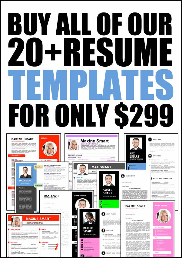All of Our 20+ Templates
