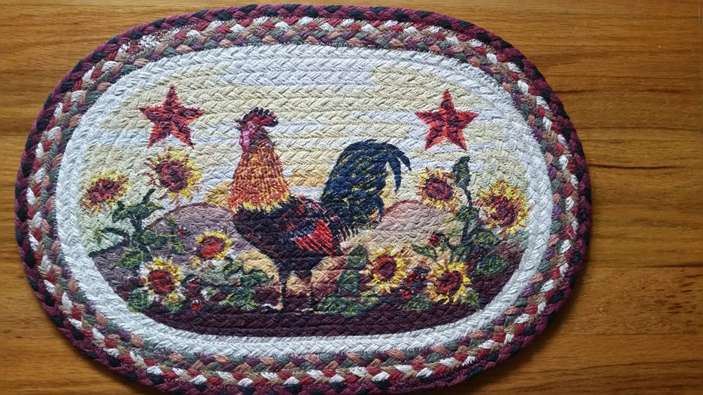Morning Rooster Placemats