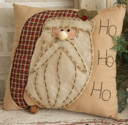 Pillow-Ho Ho Ho Santa