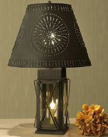 Large Milk House 4-Way Lamp with Pinwheel Shade