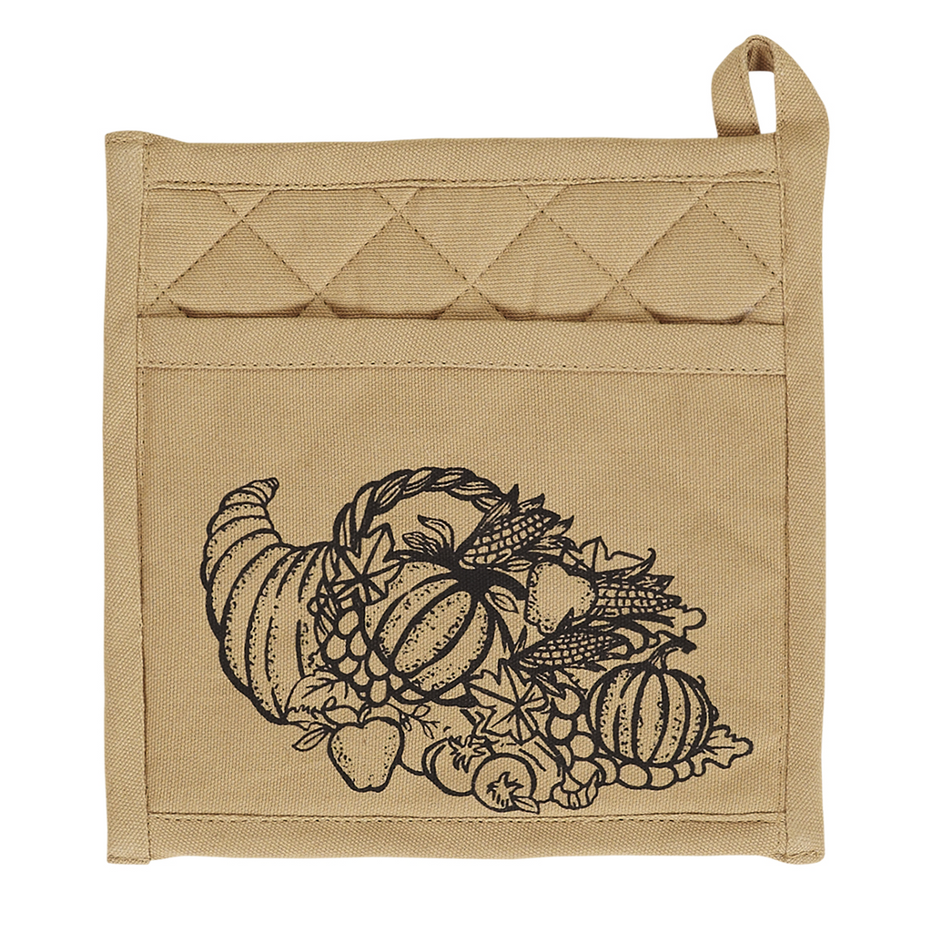 Cornucopia Pot Holder Set