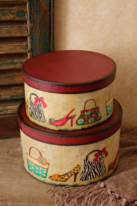 Nesting Boxes-Shoes & Purses