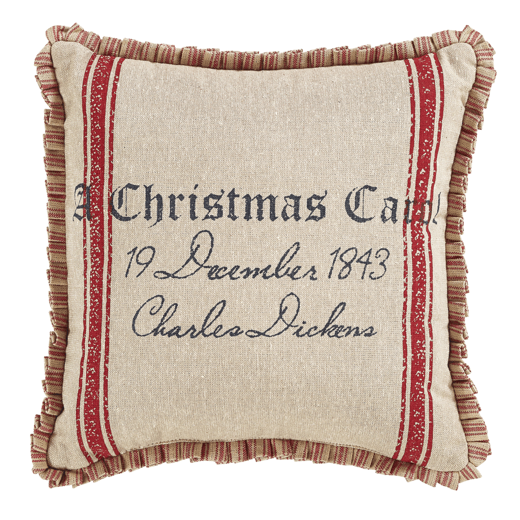 A Christmas Carol Pillow, Set of 2
