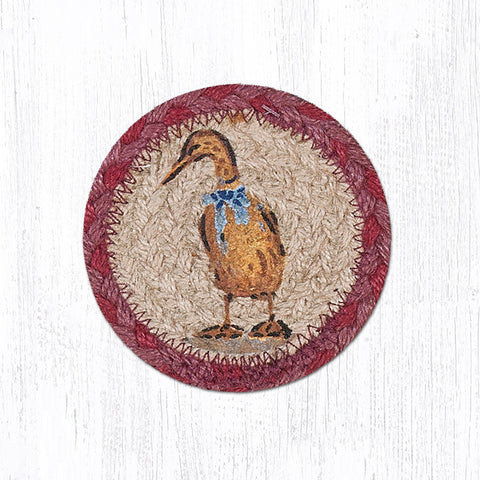 Blue Ribbon Duck Coaster