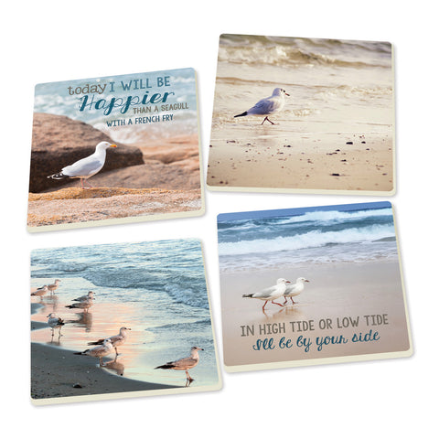 Coaster Set-Seagulls