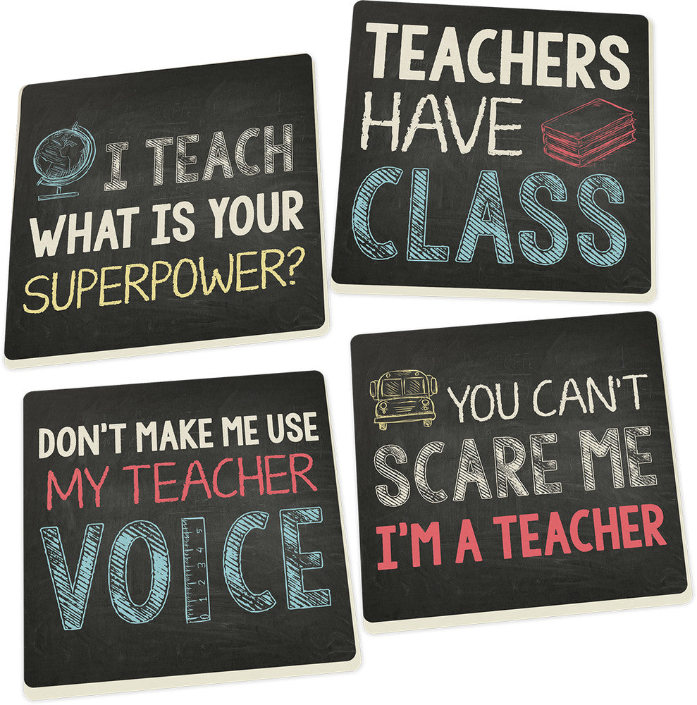 Coaster Set-Teacher