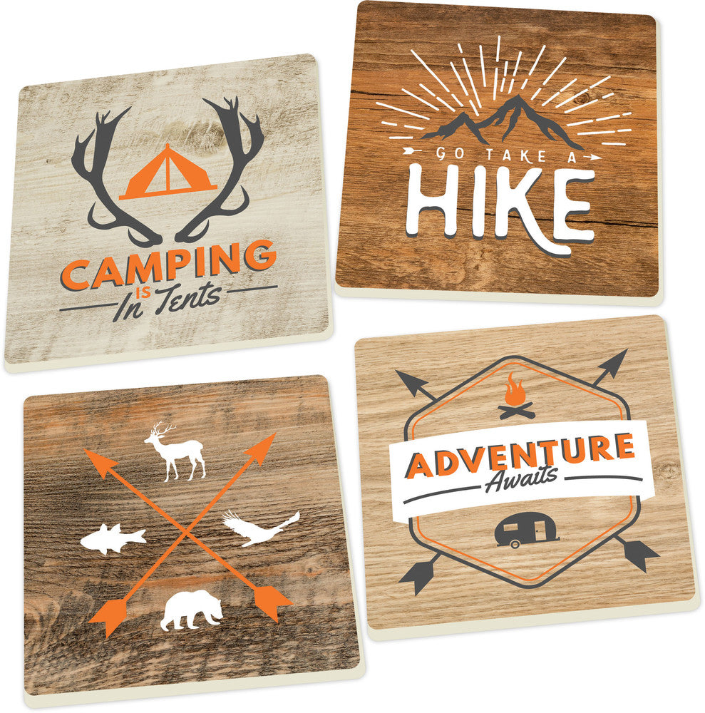 Coaster Set-Outdoors