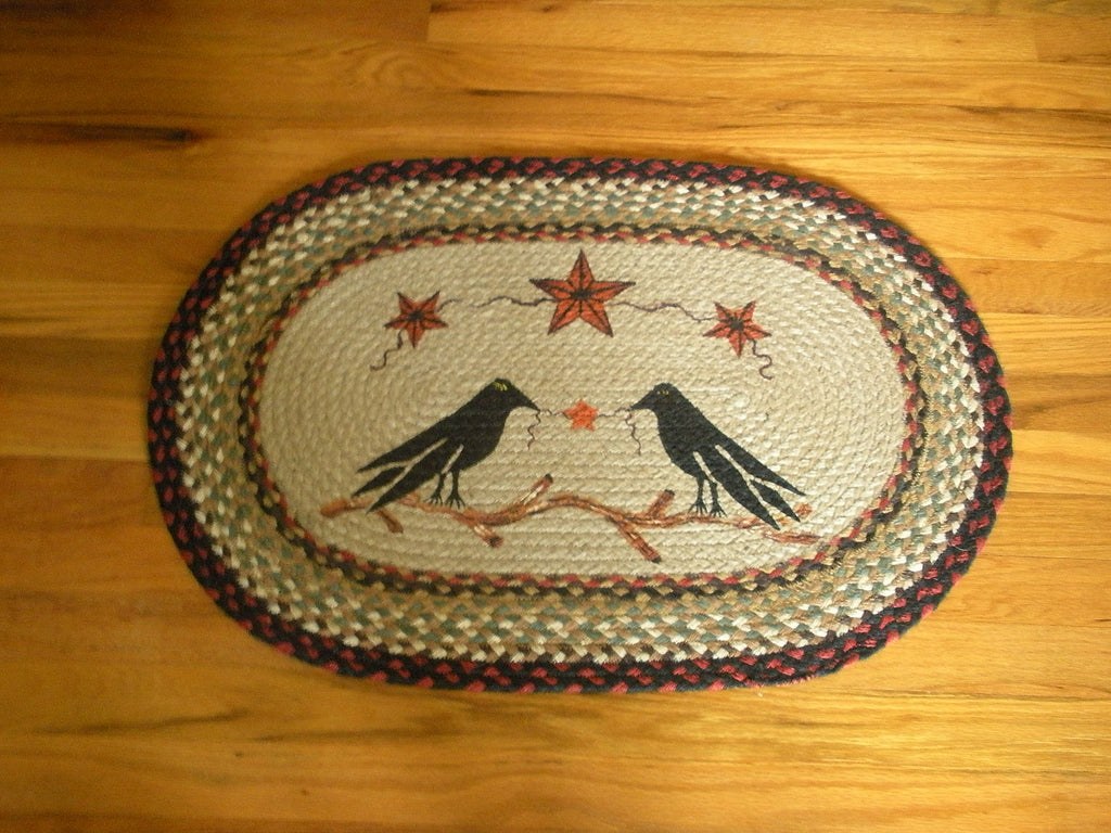 Crow & Barn Star Rug