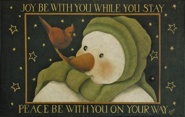 Joy Be With You Floor Mat