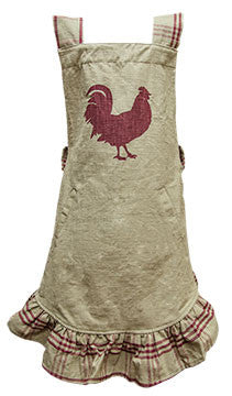 Red Rooster Apron