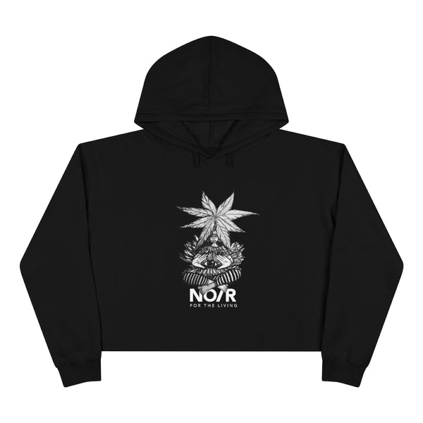 NO/R Crop Hoodie 'The Gaurdian'